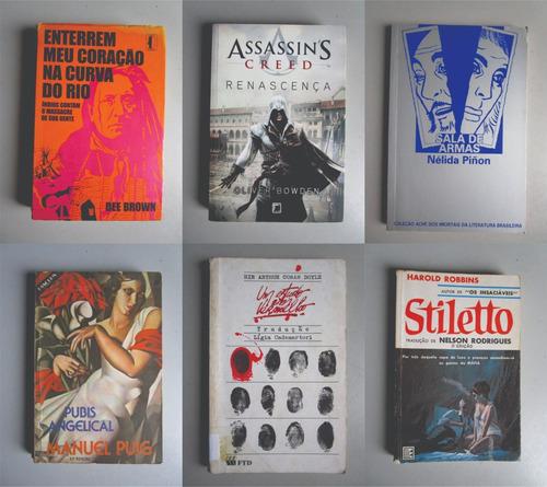 6 livros - literatura estrangeira - vários autores - lote 4