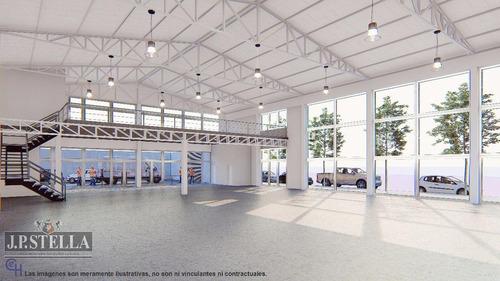 6 locales comercial a estrenar (juntos o separados) 370 m² cub cada uno c/ estacionamiento - villa luzuriaga