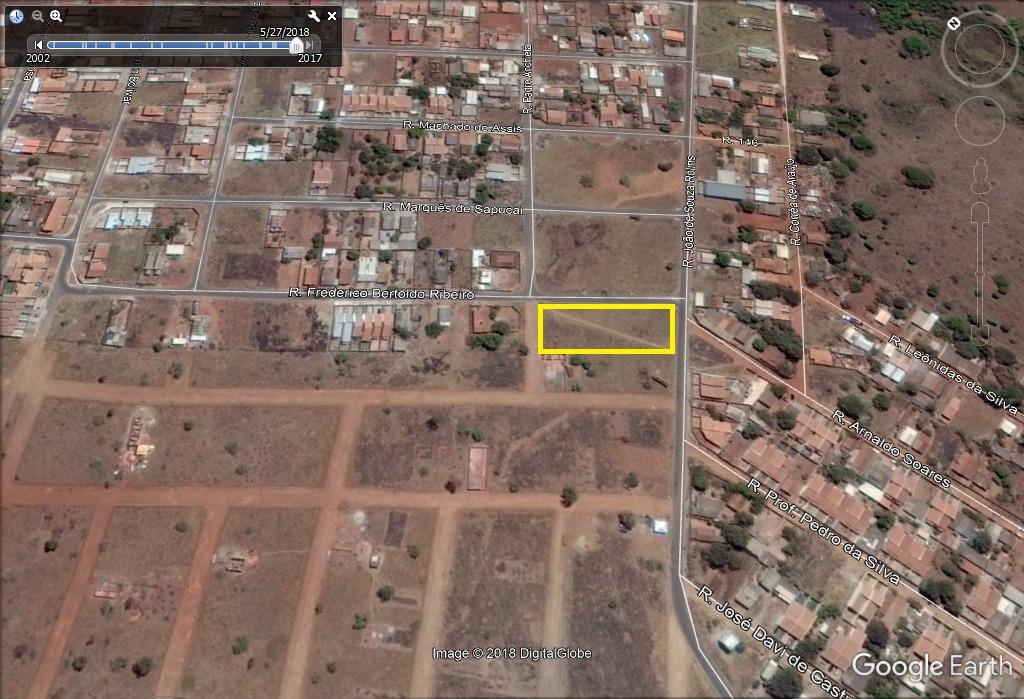 6 lotes, asfalto (area 2.569) setor nova olinda