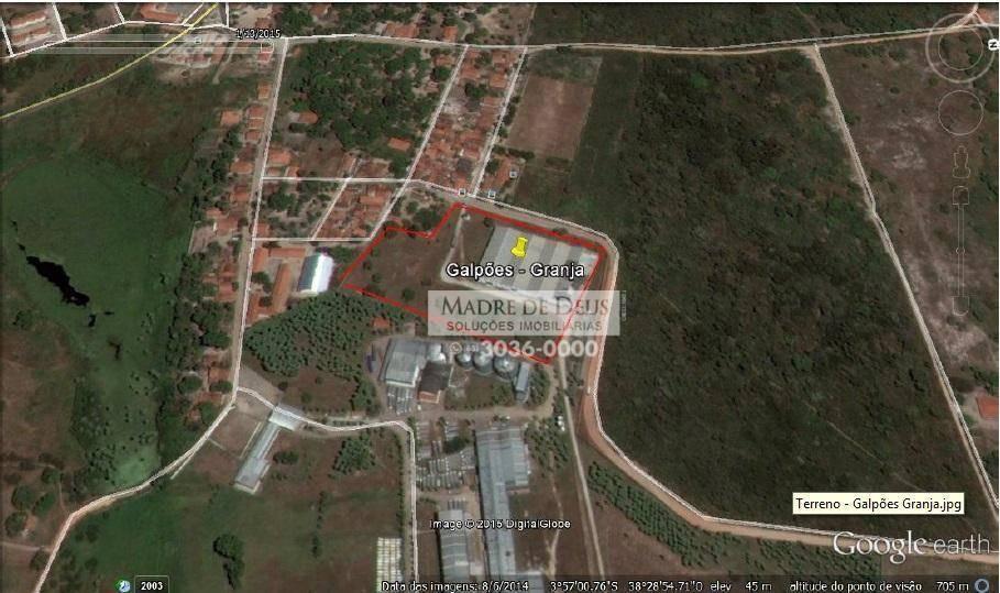 6 mil m2 de galpao, 25 500 m2 de terreno - ga0013