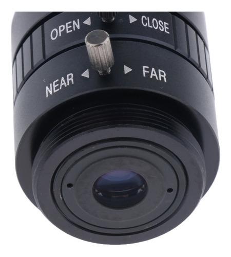6 milímetros hd 3mp f1.2 fixo foco cs monte lente para 1/2