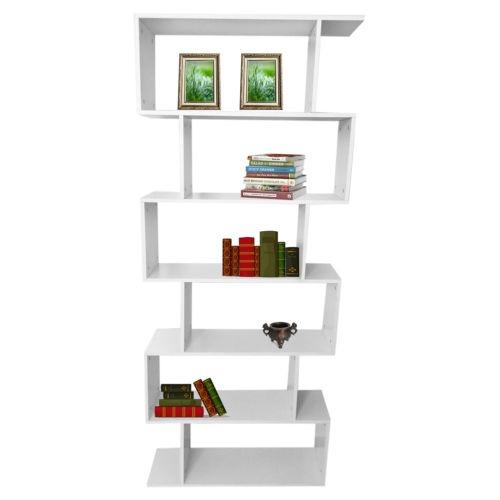 6 Niveles Libreria Estanteria Estanterias Almacenaje Cristal - Estanterias-cristal