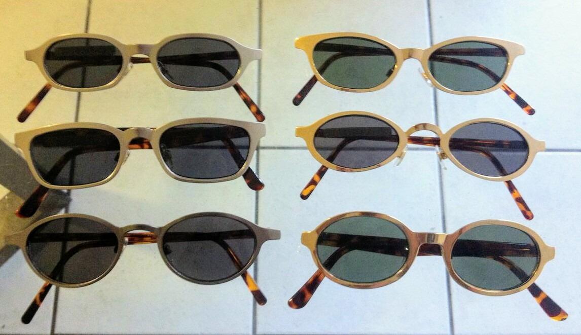 6 Óculos Vintage Originais Mini Novos - R  299,00 em Mercado Livre 83bfaedd4f