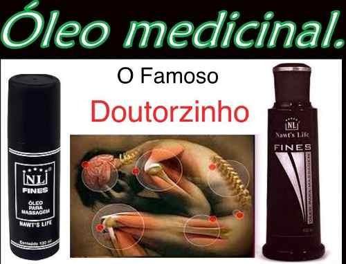 6 óleo fines de massagem nawts life frete grátis