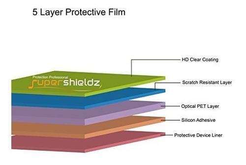 6 pack supershieldz para garmin forerunner 735xt protector d