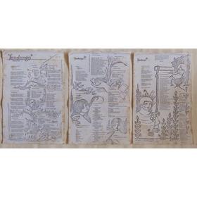 6 Paginas Desenho Impresso Wellington Virgolino  De 1986