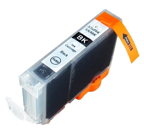 6 paquete compatible cli-8 1 negro pequeño, 1 cian, 1 cian