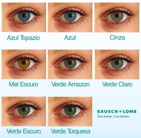 6 Pares De Lentes De Contato Colorida Com Grau Star Colors - R  120,00 em  Mercado Livre ab14744c8b
