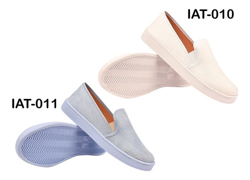 6 pares tênis feminino casual sapatênis iate   eleganteria