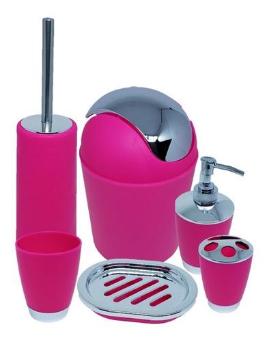 6 peças lavatório limpeza privada pia lixeira banheiro top