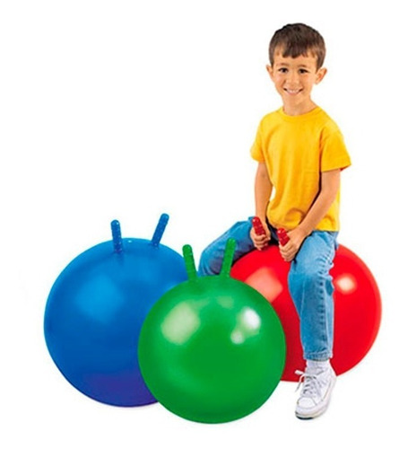 6 pelota saltarina + 6 bombin niñas niños colores fiestaclub
