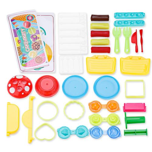 6 piezas bowa candy maleta de juguete
