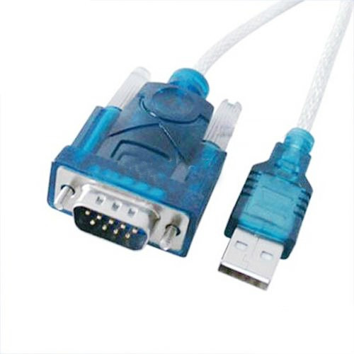 6 piezas cable convertidor puerto usb serial db9 rs232 p pc