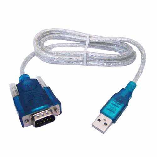 6 piezas cable convertidor puerto usb serial db9 rs232 p pc