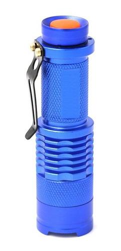 (6 piezas) lampara linterna led de mano 2000lm portatil