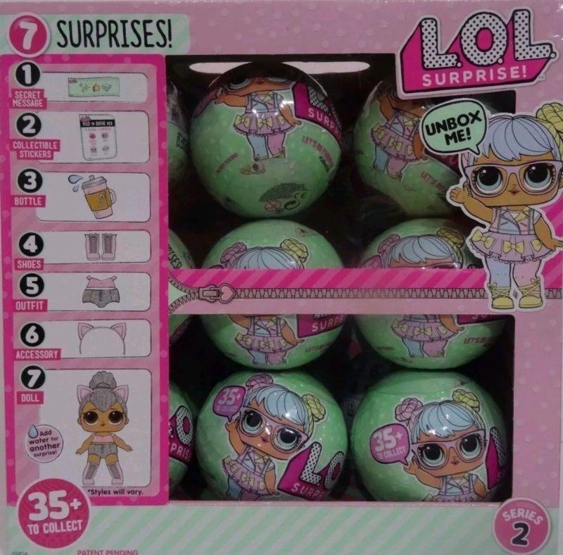 6 Piezas Lol Surprise Lil Outraugeos Littles Munecas Serie 2