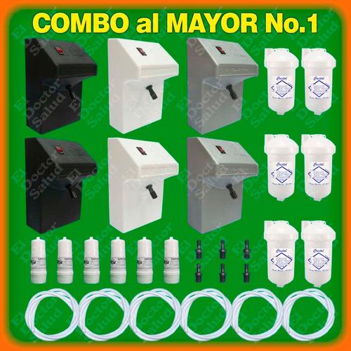 6 plantas ozono+6 filtros agua+6 cartuchos mayor ferreteria