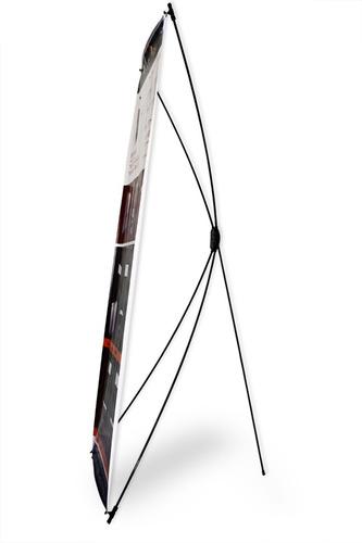 6 porta banner display araña de 60x160 economico c/bols