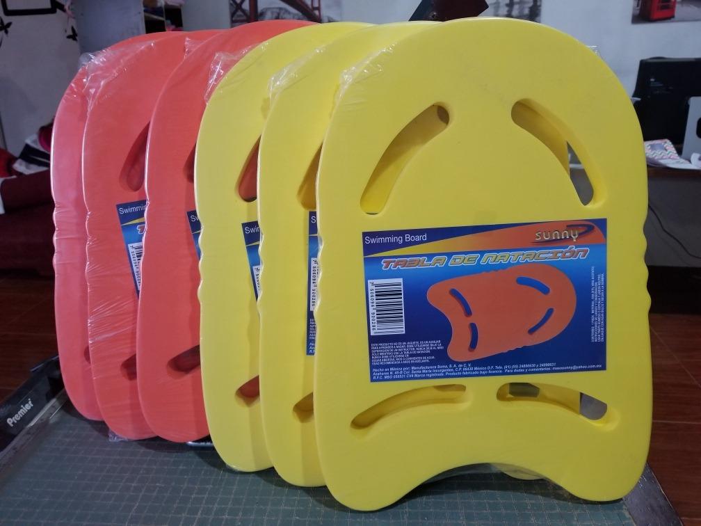 12b192eac85a 6 Pzas De Tabla De Natación , Para Aprender A Nadar . Sunny