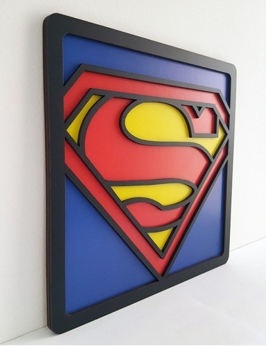 6 quadros 3d de super heróis com frete grátis