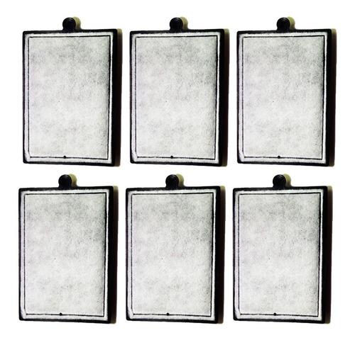 6 refil filtro atman hf600 ou hf800