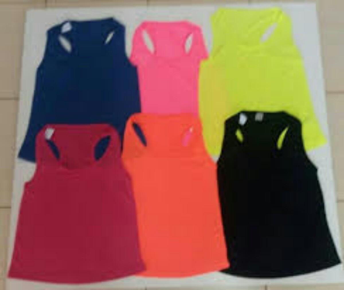4f4debdcf 6 regatas plus size dry fit roupa de academia feminina linda. Carregando  zoom.