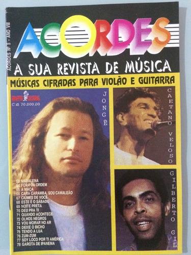 6 revistas acordes -  violão/guitarra - set10