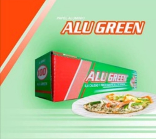 6 rollos papel aluminio para alimentos mod 400