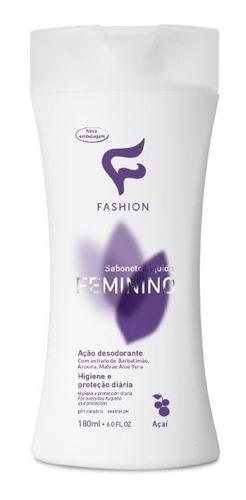 6 sabonete intimo unissex + 6 feminino liquido fashion