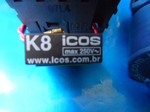 6 sensores nível água orig eicos+ 3 filtro k8+ 6 adpt p/ pvc
