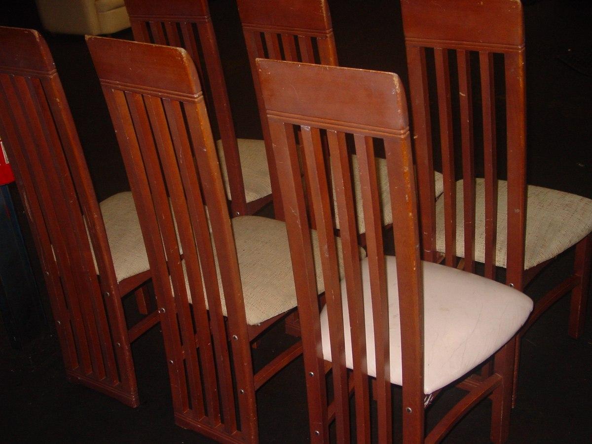 6 sillas comedor usadas buenas condiciones bs - Sillas de comedor usadas ...
