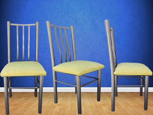 6 sillas de caño roy ( consulte venta por mayor )
