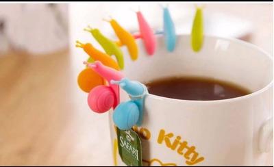 6 soporte de silicona de té o café para taza