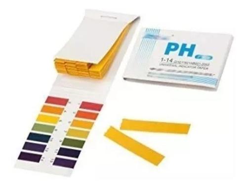 6 talonarios medicion ph 1-14 soluciones (80 cintas c/u)