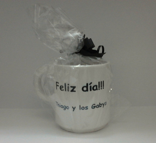 6 tazas porcelana importada personalizadas con foto y texto