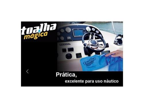 6 toalha mágica original fixxar + 1 luva microfibra multilaser