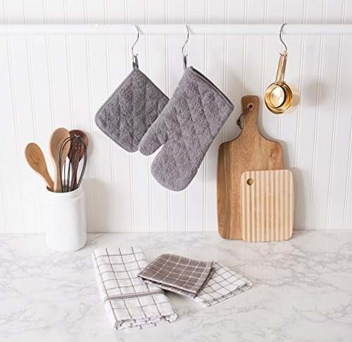 6 toallas secador 30x30cm. 100 % algodon. envio grat