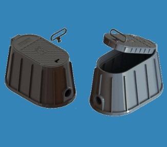 6 und caixa proteção p/ hidrômetro passeio piso frete gratis