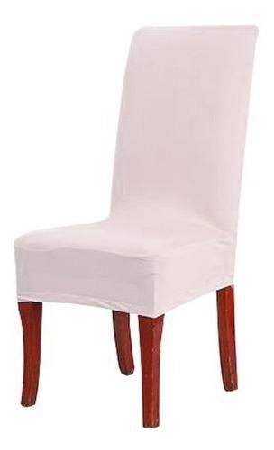 6 unidad funda de silla para comedor spandex