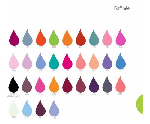 6 unidades de esmaltes raffinée colores a elección