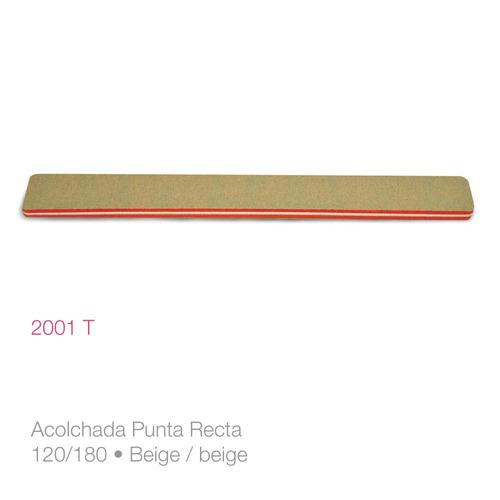 6 unidades lima para uñas acolchada 2001t raffinée