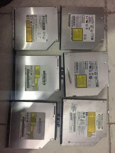 6 unidades quemadoras dvd laptop