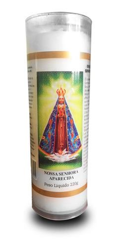 6 velas votivas 7 dias imagem nossa senhora aparecida oração