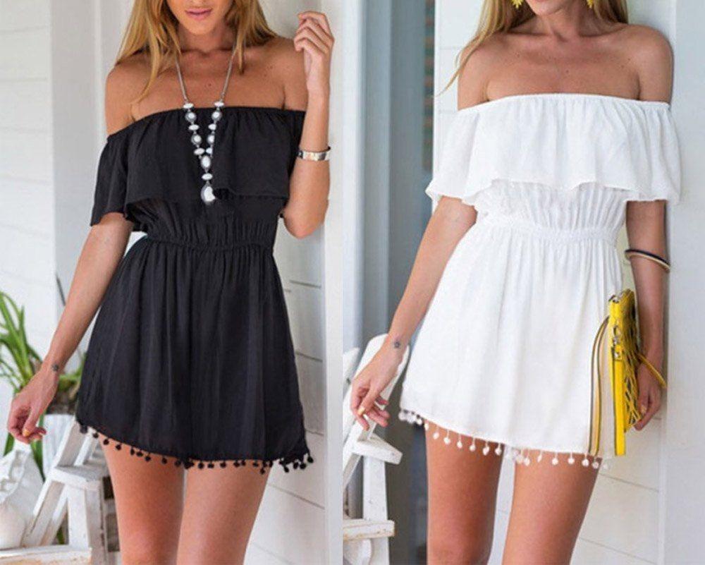 Vestidos casuales de verano cortos