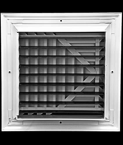 6 x 6 4 way supplyrejilla duct cover &difuserbajo nive