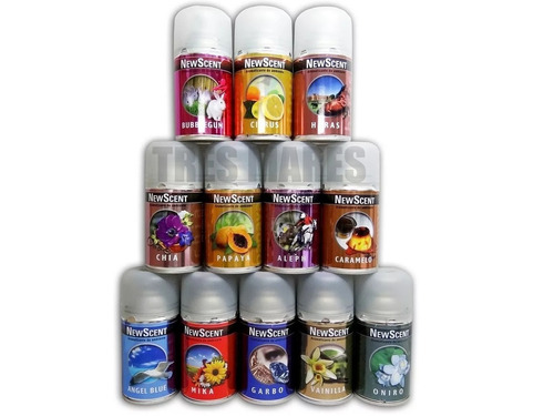 6 x aerosol fragancia repuesto newscent aromatizador