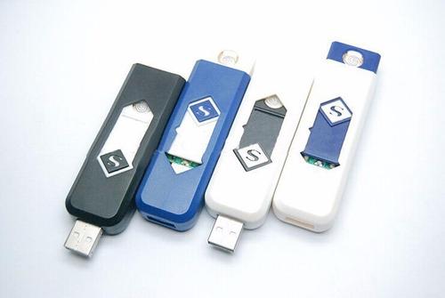 6 x encendedor recargable usb electronico / promoferta