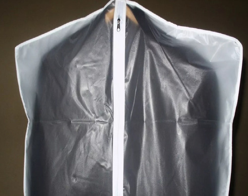 6 x funda para pullover sweter con cierre transparente