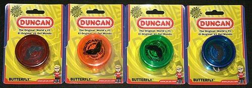 6 yo-yos nuevos mariposa duncan con envio