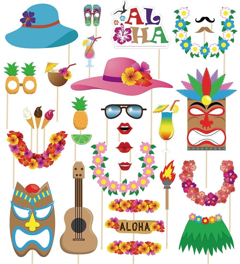7d29ec881875 60 accesorios para fotos de fiesta hawaiana animacion moon. Cargando zoom.